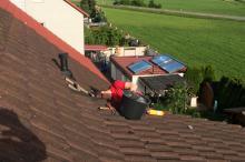Marderabwehr durch Verschliessung des Daches